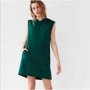 UO BDG | Green Oversized Sweatshirt Hoodie Dress